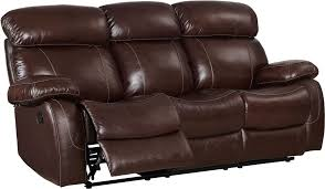 dante dark brown power reclining sofa from new classic coleman
