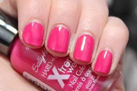 sally hansen fuchsia power my nail polish collection pinterest