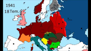 Map Of Europe 1941 by