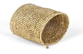 golden cuff bracelet images Taneesi gold cuff bracelet beaded long cuff bracelet jpg