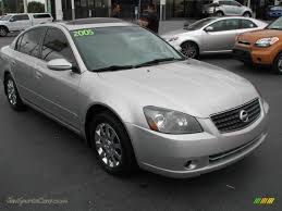 nissan altima 2005 for sale 2005 nissan altima 2 5 s in sheer silver metallic 325394 jax