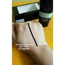 Corrective Base Makeup Makeover make corrective base make up greenish