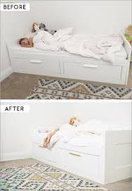 stolmen bed hack ikea twin daybed 584805 ikea hack adding brass pulls to the brimnes