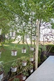 How To Build Vertical Garden - remodelaholic how to diy a suspended vertical garden