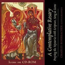 rosary cd a contemplative rosary cd rom library ocp