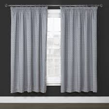 taylor silver thermal lined jacquard pencil pleat curtains pair