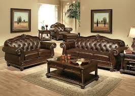 Formal Chairs Living Room Traditional Sofa Sets Living Room Exposed Wood Luxury Traditional