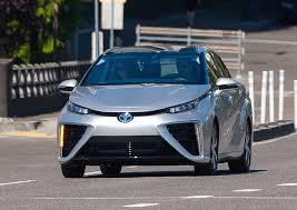 hydrogen fuel cell car toyota is toyota u0027s hydrogen fuel cell fervor foolish or foresighted