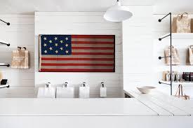 American Flag Wall Hanging Shopper U0027s Diary Salt House Mercantile On Bainbridge Island
