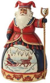 jim shore dashing to a merry celebration resin santa