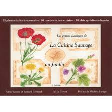 cuisine sauvage recettes la cuisine sauvage au jardin vol 1 éditions de terran