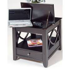 laptop computer end table liberty furniture piedmont laptop storage end table hayneedle