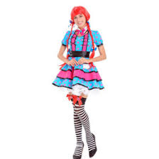 Ladies Clown Halloween Costumes Discount Cute Clown Halloween Costumes 2017 Cute Clown Halloween