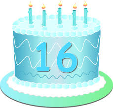 free sweet sixteen clip art image sweet sixteen birthday cake