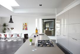 white kitchen island with stainless steel top tile floors modern white floor tile black island with stainless