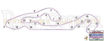 corvette museum race track racing line map at national corvette museum motorsports park