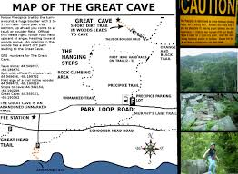 National Parks Road Trip Map The Great Cave Phantom Trail Acadia National Park An Unmarked