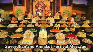 happy goverdhan and annakut festival messages best message