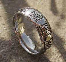 mens celtic wedding rings titanium celtic wedding rings oh i like this for a right