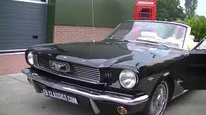 1966 Ford Mustang Black Ford Mustang Cabriolet 1966 Black V8 5 0 Ltr Video Www