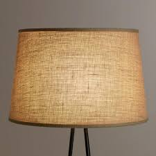 Yellow Floor Lamp Shade Natural Burlap Floor Lamp Shade World Market