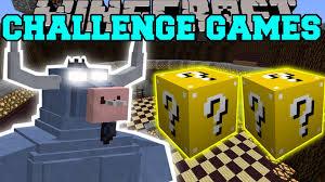 Challenge Minecraft Popularmmos Minecraft Iron Will Challenge Lucky Block