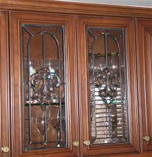 stained glass cupboard doors stained glass cabinets for your kitchen