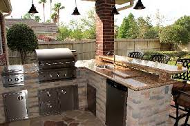 Outdoor Fireplace Houston by Outdoor Kitchen Equipment Houston Outdoor Kitchen Gas Grills