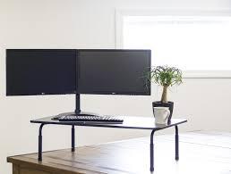 desk t v040 standing height adjustable desktop stand stand up