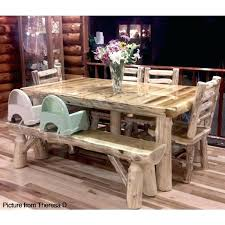rustic log dining room tables cedar dining room set rustic dining room table and chairs aromatic