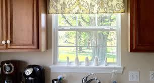 curtains small kitchen window treatments amazing kitchen sink
