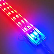 12v dc led grow lights 5 pack 3 28ft 100cm plant growth led light bar dc 12v 25watt smd5630