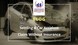 settling a car accident claim without insurance