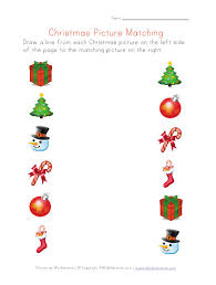christmas pictures matching worksheet pinned by pediastaff