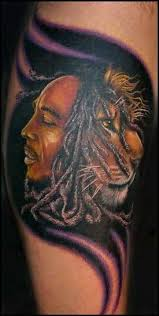 bob marley lion tattoo design in 2017 real photo pictures