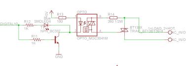 symbols triac circuit triac circuit for heater control u201a triac