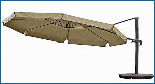 Hton Bay Patio Umbrella Hton Bay 11 Ft Offset Led Patio Umbrella In Archives