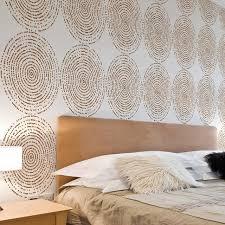 Stencils For Home Decor Resonance Allover Stencil Pattern Diy Home Decor Easy Diy Wall