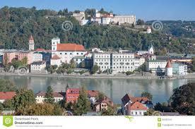 Passau Germany Map by Passau Bavaria Germany Stock Image Image 30335141