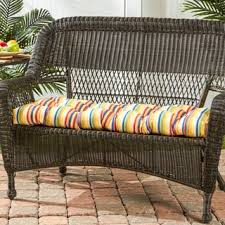 outdoor stripe sunbrella 20 inch chair cushion free shipping on