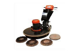 single disc floor scrubber jetwash