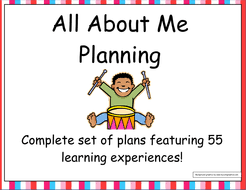 all about me ourselves eyfs planning and resources by