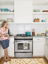 small kitchen interiors small space kitchen remodel hgtv