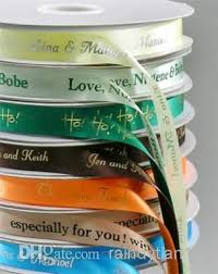 printed ribbons for favors 29 best printed ribbon rolls images on printed ribbon