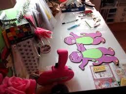 Diy Barney Decorations Barney Centerpiece Youtube