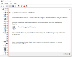 android adb driver how to install adb drivers on windows 10 opo android