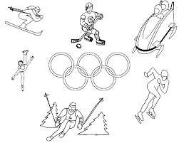 Dessins Gratuits à Colorier  Coloriage Olympique à imprimer