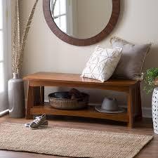 living room bench belham living darby mid century modern upholstered bench hayneedle