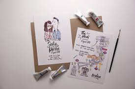 unique wedding invitations 75 unique wedding invitations for cool couples emmaline
