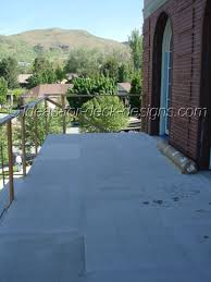install cement board deck tile
